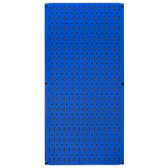 8 Pack of Pegboard - Scratch & Dent Wall Control 16in W x 32in T Blue Metal Pegboard