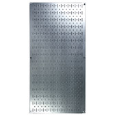 8 Pack of Pegboard - Scratch & Dent Wall Control 16in W x 32in T Galvanized Metallic Metal Pegboard