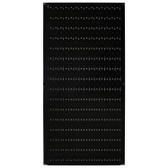 8 Pack of Pegboard - Scratch & Dent Wall Control 16in W x 32in T Black Metal Pegboard