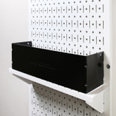 Scratch & Dent 4in Deep Shelf Guard and Wall Containment Stabilizing Bracket