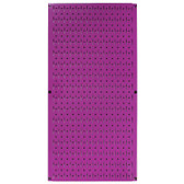 8 Pack of Pegboard - Scratch & Dent Wall Control 16in W x 32in T Purple Metal Pegboard