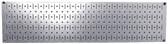 Scratch & Dent 8in T  X 32in W Horizontal Galvanized Metal Pegboard Tool Board Panel