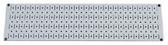 Scratch & Dent 8in T  X 32in W Horizontal Gray Metal Pegboard Tool Board Panel
