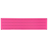 Scratch & Dent 8in T  X 32in W Horizontal Pink Metal Pegboard Tool Board Panel