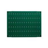 Scratch & Dent 12in Tall x 16in Wide Pegboard Panel - Green Metal Pegboard