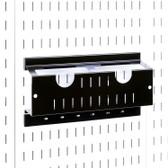 """Scratch & Dent Angle Grinder Storage Rack Pegboard Organizer - 4-1/2"""" Angle Grinder Holders"""