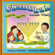 Chanukah Guess Who? Lift the flap book
