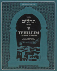 Tehillim | Weiss edition | Psalms with Explanatory Translation & Insights, Teal
