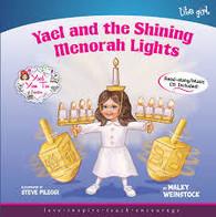 Yael & The Shining Menorah Lights