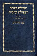 Mincha Maariv With Tehilim