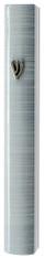 Mezuzah Case | Aluminum 3d Metal Painted | White | 10cm