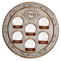Seder plate | Disposable | Brown