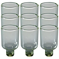Glass Oil Cup | 5cm | 9 Pack | 52241