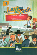 Levi & Leah Tour Through Leningrad | Chassidic Comics