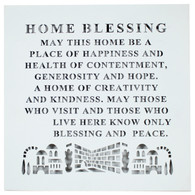 Home Blessing | Laser Cut- English, 32*32 Cm