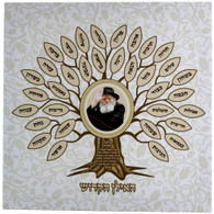 Home Blessing | Canvas Blessing 32*32cm | Hebrew