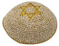 Kipa | Knitted | Netazim Star Of David