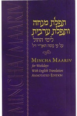 Mincha Umaariv With English Translation Annotated Edition