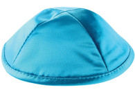 Kipa | Satin | Deluxe With Pin Spot- Turquoise