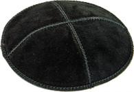 Kipa | Suede Black | 14cm