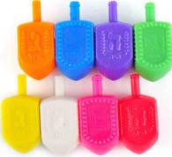 Dreidel | Plastic Colorful | 4cm