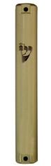 Mezuzah Case | Plastic Beige Rubber Plug | 15cm