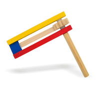 Purim: Colorful Gragger 15cm