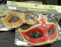 Purim: Glitter Queen Mask