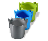 Wash Cup | Round Plastic