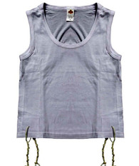 Tzitzit | Singlet Cotton | #S40  Adult Small