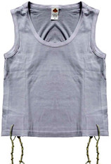 Tzitzit | Singlet Cotton | #L - 44-46  Adult