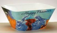 'Exodus To Freedom' Melamine Bowl, Square, 6""