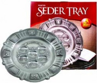 Seder Plate | Pewter | 15 Inch