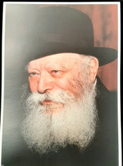 Photo of the Rebbe | Large | 24.5 x 34.5cm | 1