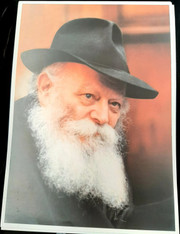 Photo of the Rebbe | Large | 24.5 x 34.5cm | 2