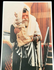 Photo of the Rebbe | Large | 24.5 x 34.5cm | 3