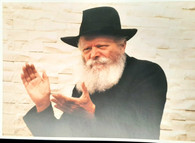Photo of the Rebbe | Large | 24.5 x 34.5cm | 5