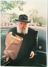 Photo of the Rebbe | Large | 24.5 x 34.5cm | 7