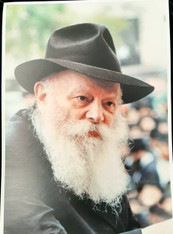 Photo of the Rebbe | Large | 24.5 x 34.5cm | 9