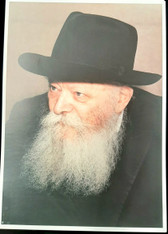 Photo of the Rebbe | Large | 24.5 x 34.5cm | 11
