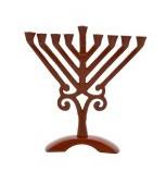 Menorah | Bronze Colored Rambam | 17cm