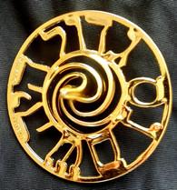Dreidel | plastic Gold