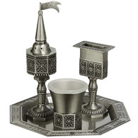 Havdalah Set | Pewter | 3 Pcs