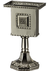Havdalah Candle holder | Star Of David | Nickel | 11cm