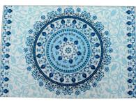 Challa Tray | Reinforced Glass Blue | 37*25cm
