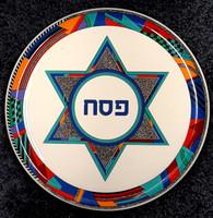 Seder Plate | Ceramic, Star