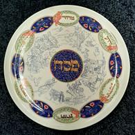 Seder Plate | Ceramic, painted