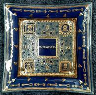 Matza Plate | Glass, hand made in Israel