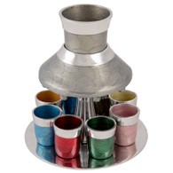 Wine Divider | Aluminum With 8 Small Cups /21 Cm