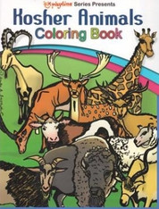 Colouring Book | Kosher Animals